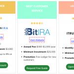 5 Best Crypto IRA Companies in America