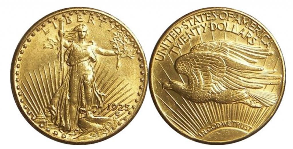 U.S. Double Eagle Gold Coins